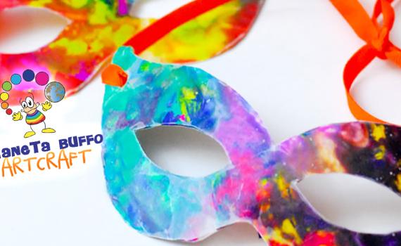 Maschere colorate PianetaBuffo Artcraft HP
