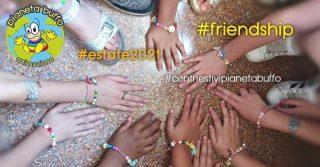 """🌈 Laboratori Creativi al Centro Estivo """"Scuola A. Tagliacozzo"""": tante perline colorate e la creatività dei nostri bambini! 💫 👉pianetabuffo.it . . . #pianetabuffo #pianetabuffoanimazione #centriestivipianetabuffo #centriestivi #centriestivi2021 #centriestiviroma #centriestiviromaeur #friendship #laboratori #creatività #summertime #estate2021 #bff"""